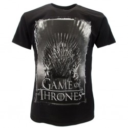 "Games of Thrones ""empty throne"" t-shirt ufficiale nera"