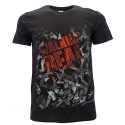 The Walking Dead t-shirt ufficiale nera