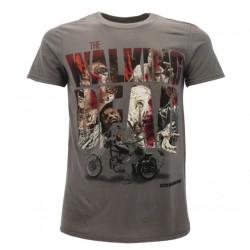 The Walking Dead t-shirt ufficiale grigio scuro