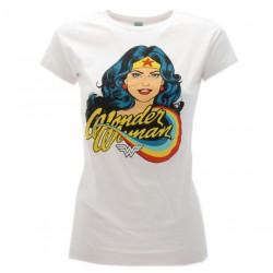 Wonder Woman t-shirt ufficiale bianca