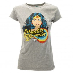 Wonder Woman t-shirt ufficiale grigio