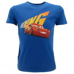 Cars t-shirt ufficiale bimbo blu