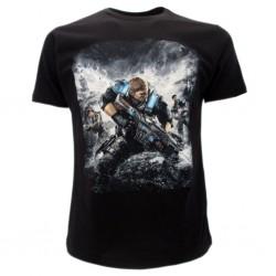 Gears of war t-shirt ufficiale nera