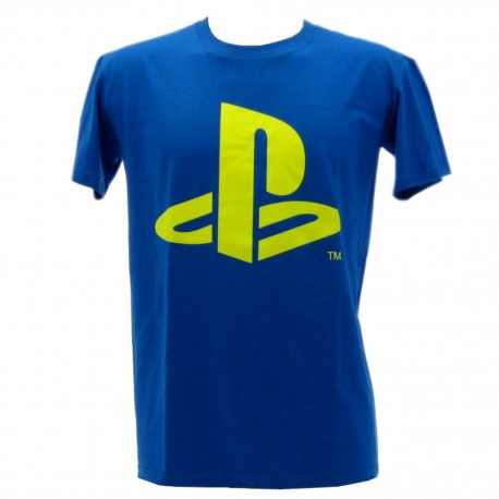 Play station t-shirt ufficiale blu