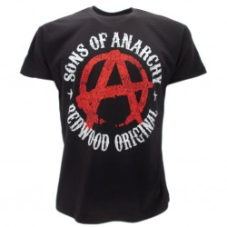 Son's of anarchy t-shirt ufficiale nera
