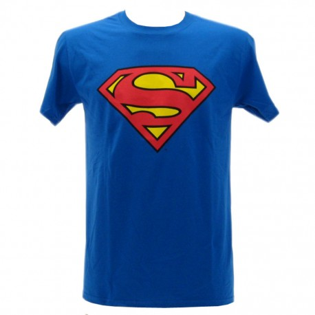 Superman t-shirt ufficiale blu