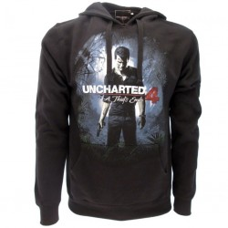 Uncharted 4 felpa ufficiale nera