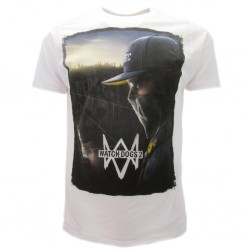 Watch Dogs 2 t-shirt ufficiale bianca