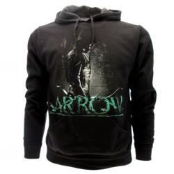 Arrow felpa ufficiale nera