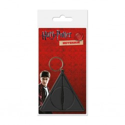 Harry Potter The Deathly Hallow portachiavi in gomma