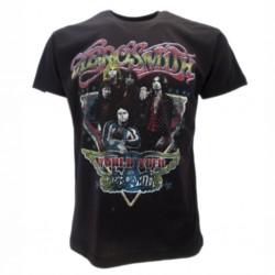 Aerosmith T-shirt ufficiale nera