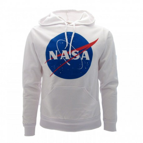 FELPA NASA UFFICIALE BIANCA