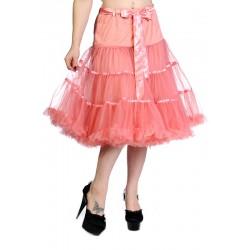 petticoat ribbon skirt dusty pink Banned