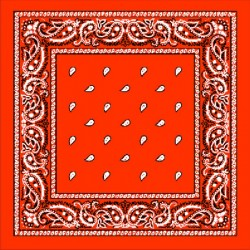 bandana arancio